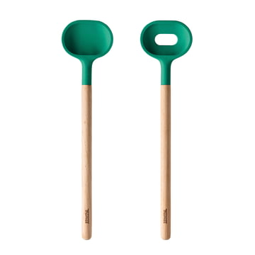 Thomas - Salad Servers (2-pcs.), green