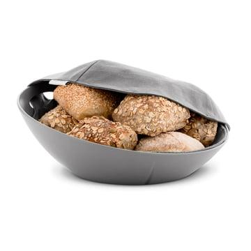 Rosendahl - Grand Cru Bread Basket in dusty grey with cloth napkin