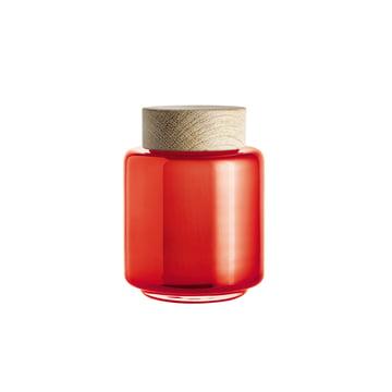 Holmegaard - Palet Storage Jar in orange for 0.35 l