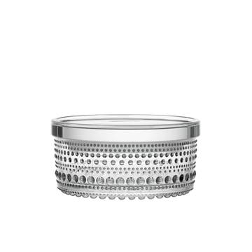 Kastehelmi storage jar 116 x 57 mm by Iittala made of clear glass