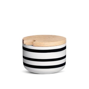 Kähler Design - Omaggio sugar bowl in black