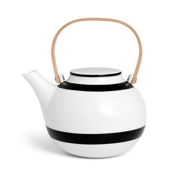 Kähler Design - Omaggio Teapot 1 L in Black.