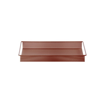 Metal Tray Small by ferm Living in Ochre