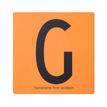 Design Letters - AJ Memory Game, tile G