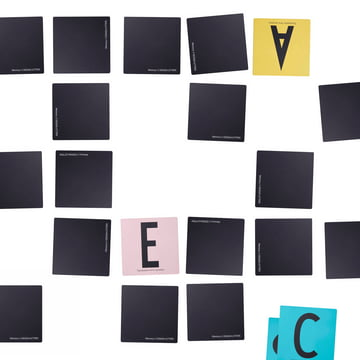 Design Letters - AJ Memory Game, sprawled, white background