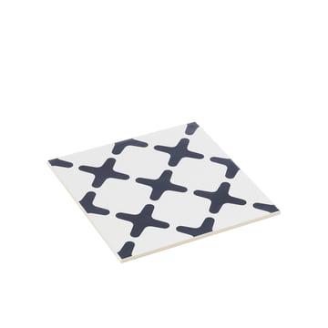 by Lassen - Exes trivet small, navy blue