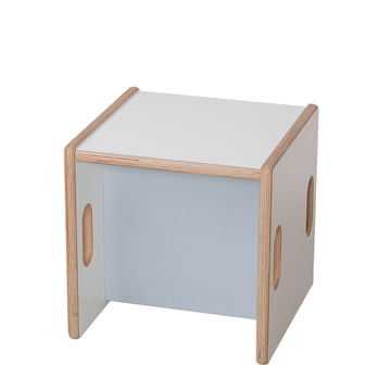 debe.detail Convertible Chair by de Breuyn in white/light grey
