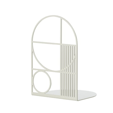 Outline Bookend by ferm Living in Grey