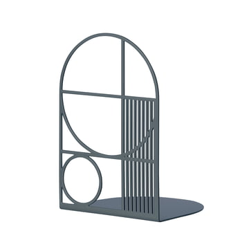Outline Bookend by ferm Living in Dark Blue