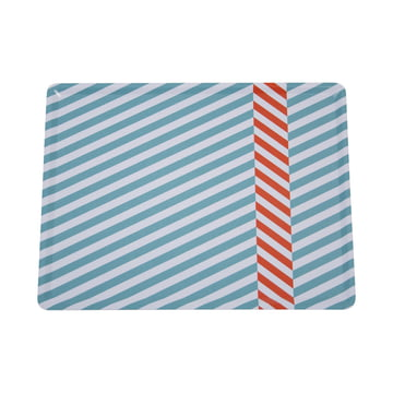 The Tray Cabourg in lagune blue by Fermob