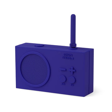 Tykho 2 Radio by Lexon in Blue