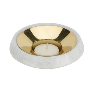 Stone Tea Light Holder by Tom Dixon