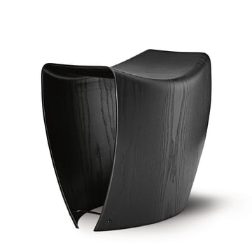 Gallery Stool by Fredericia in Black Ash