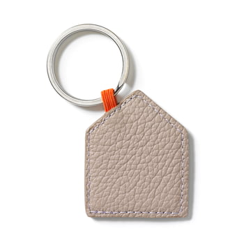 Key ring house by Vitra in sand