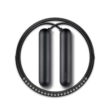 smart rope skipping rope by Tangram in black