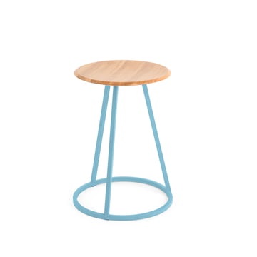 Petit Gustave Stool by Hartô in Pastel Blue (RAL 5024)