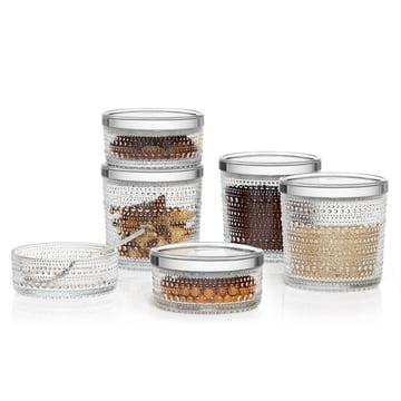 The Iittala - Kastehelmi Storage Jars