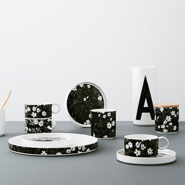 AJ Vintage Flowers porcelain series by Design Letters