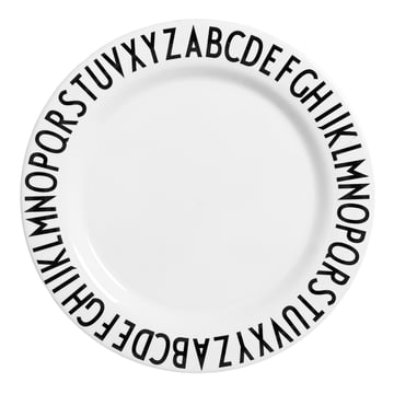 AJ Large Melamine Plate Ø 24cm by Design Letters