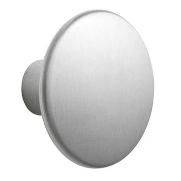 "Wall Hook ""The Dots Metal"" Single Large by Muuto made of aluminium"