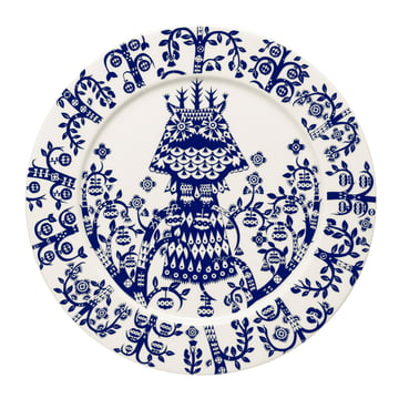 Iittala - Taika Plate flat, midnight blue Ø 27 cm