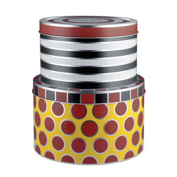 Circus All-purpose Tins (Set of 2) by Alessi
