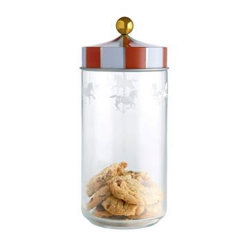 Circus Kitchen Jar for Biscuits