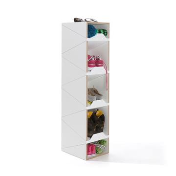 emform - Shustack shoe cabinet Seven, white / white