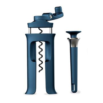 BarWise 2-piece bottle opener set from Joseph Joseph in Blue