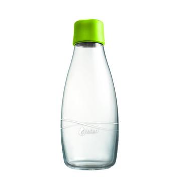 Drinking Bottle with Lid 0.5 l by Retap in Light Green