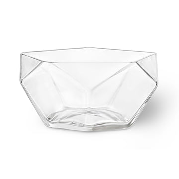 Glass Bowl Penta Ø 26 cm by Rosendahl