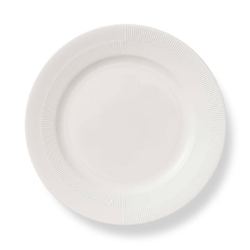 Duet Plate Ø 27 cm by Rosendahl in White