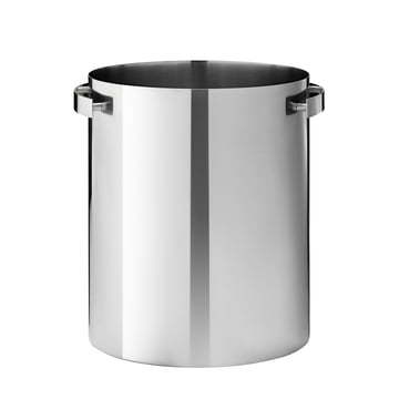 Cylinda Line champagne cooler by Stelton out of stainless steel
