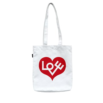 Graphic Love Heart Bag by Vitra