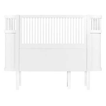 The Sebra Bed Baby & Junior in White