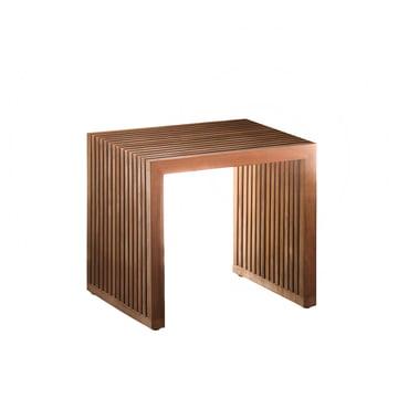 Tivoli Stool by Jan Kurtz out of teak wood