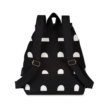 Erika Italia Backpack by Marimekko in Black / White