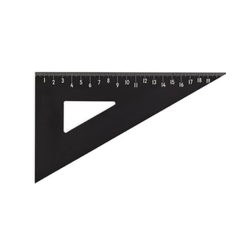 Triangle Ruler by Design Letters