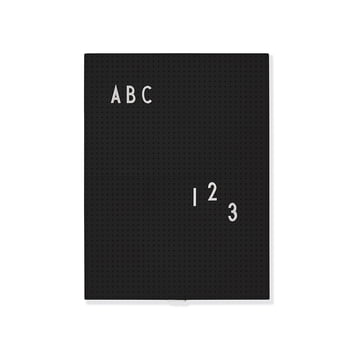 Message Board by Design Letters in black