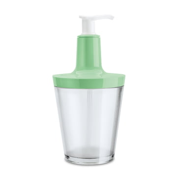 Koziol - Flow soap dispenser, transparent mint
