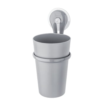 Koziol - Toothbrush Cup Loop, cool grey