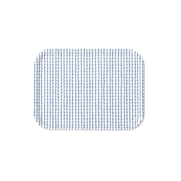 Rivi Tray in Small by Artek in White / Blue