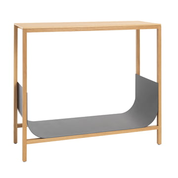 Tub console table by Schönbuch in natural oiled oak / granite tub