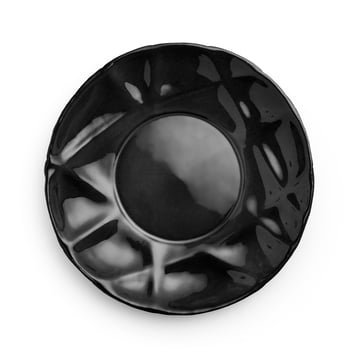 Succession deep plate Ø 23 cm by Petite Friture in black