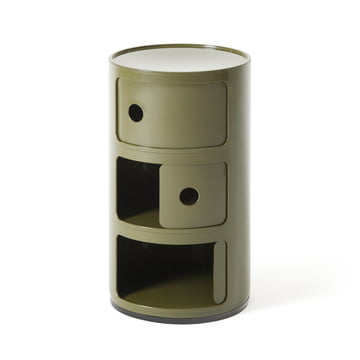 Componibili 4967 by Kartell in green