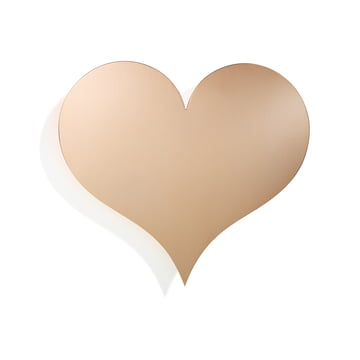 Metal Wall Relief Heart by Vitra