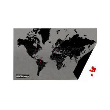 Palomar - Pin World by Countries, black / mini