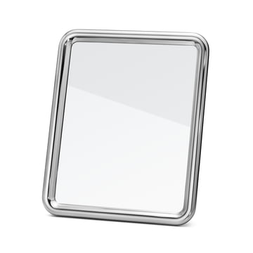 Tableau table mirror medium by Georg Jensen in aluminium