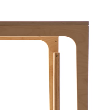 Table out of Birch Plywood for Children