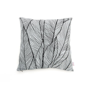 Mika Barr - Pinion Cushion Cover, 45 x 45cm, black / white